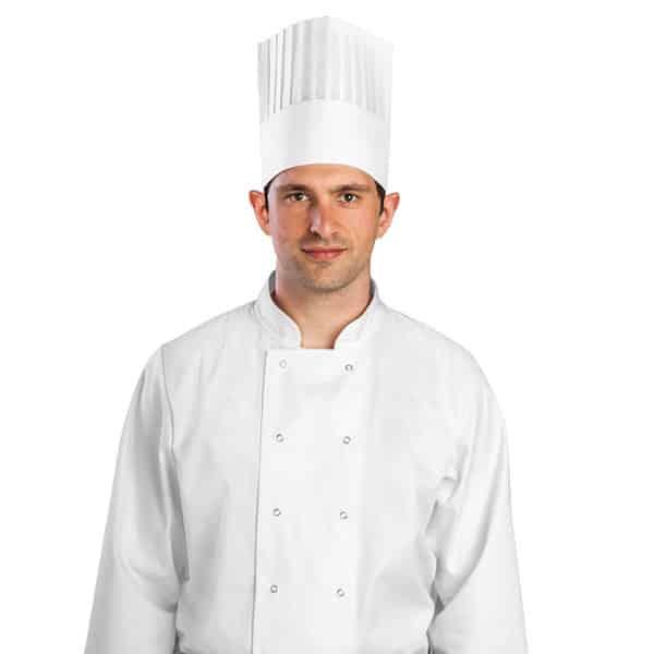 Non Woven Chefs Hat White Irish Distributors