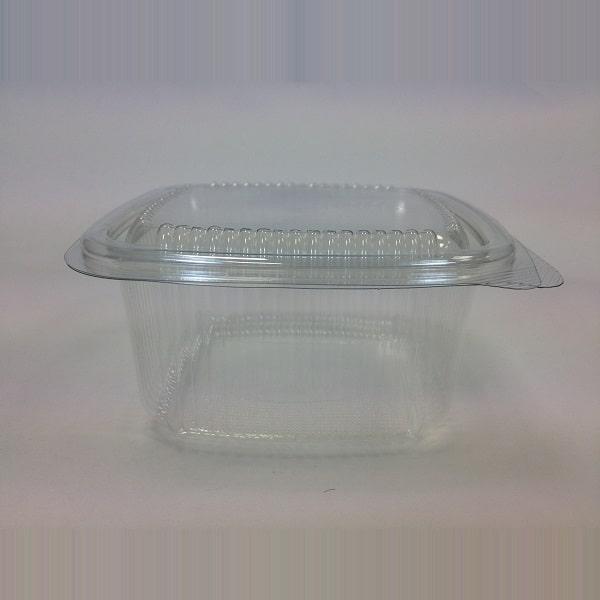 250cc Square hinged salad container 10x50 Irish Distributors