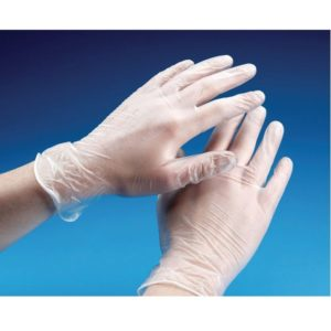 Vinyl Gloves Clear Powder Free Irish Distributors