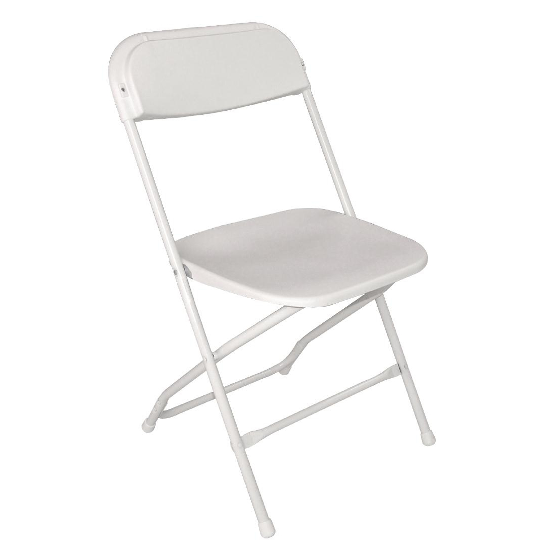 White plastic folding chairs - Folding Chair Pack 10