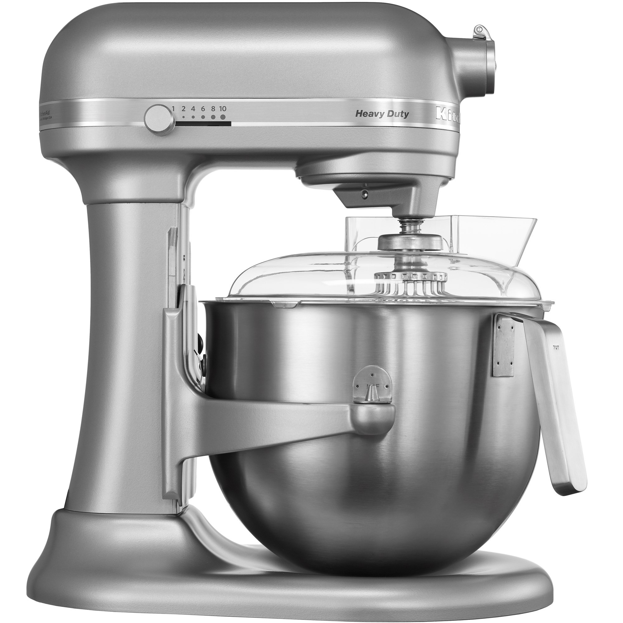 kitchenaid heavy duty mixer metallic silver irish. Black Bedroom Furniture Sets. Home Design Ideas