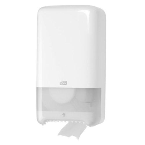 T7 Tork Twin Coreless Toilet Roll Dispenser Long Irish